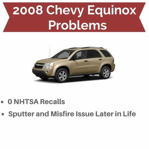 2008 Equinox Problems and Recalls | Drivetrain Resource