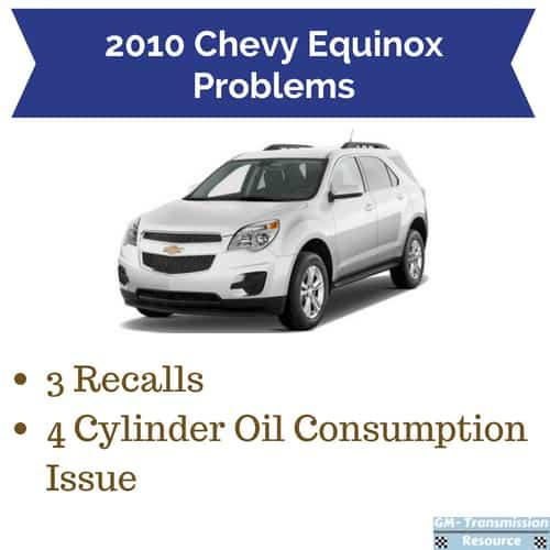 2010 chevrolet equinox problems