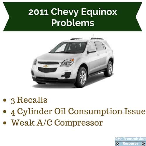 2011 Chevrolet Equinox Problems