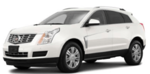 Engine Smoking Cadillac SRX