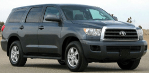 Shutting off when driving Toyota Sequoia