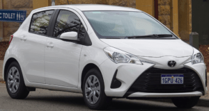 shakes when braking Toyota Yaris