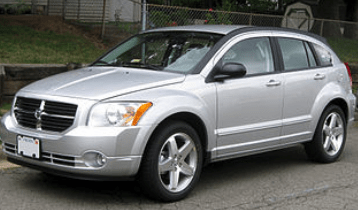 Pulling Left Dodge Caliber