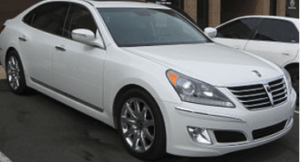Brake Grinding Diagnosis Hyundai Equus