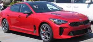 Gas Smell Kia Stinger