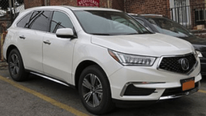 Airbag Light On Acura MDX