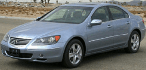 Hesitation When Starting Acura RL