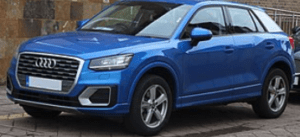 Shutting off when driving Audi Q2