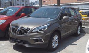 White Exhaust Smoke Buick Envision