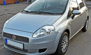 Shutting off when driving Fiat Punto
