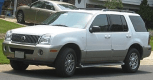 Whining Noise Mercury Mountaineer