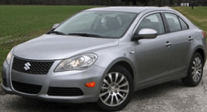 Hard to Turn Steering Wheel Suzuki Kizashi
