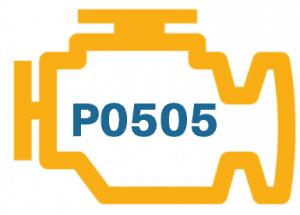 Pontiac Firebird P0505 Diagnosis