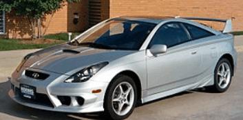 Toyota Celica P0325: Knock Sensor
