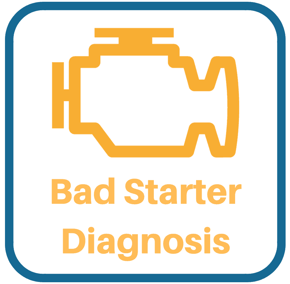 Acura RL Bad Starter Diagnosis