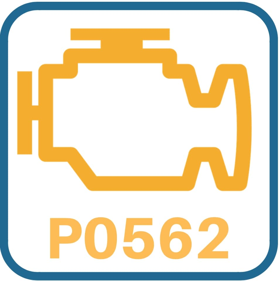 Hyundai Accent P0562 Symptoms