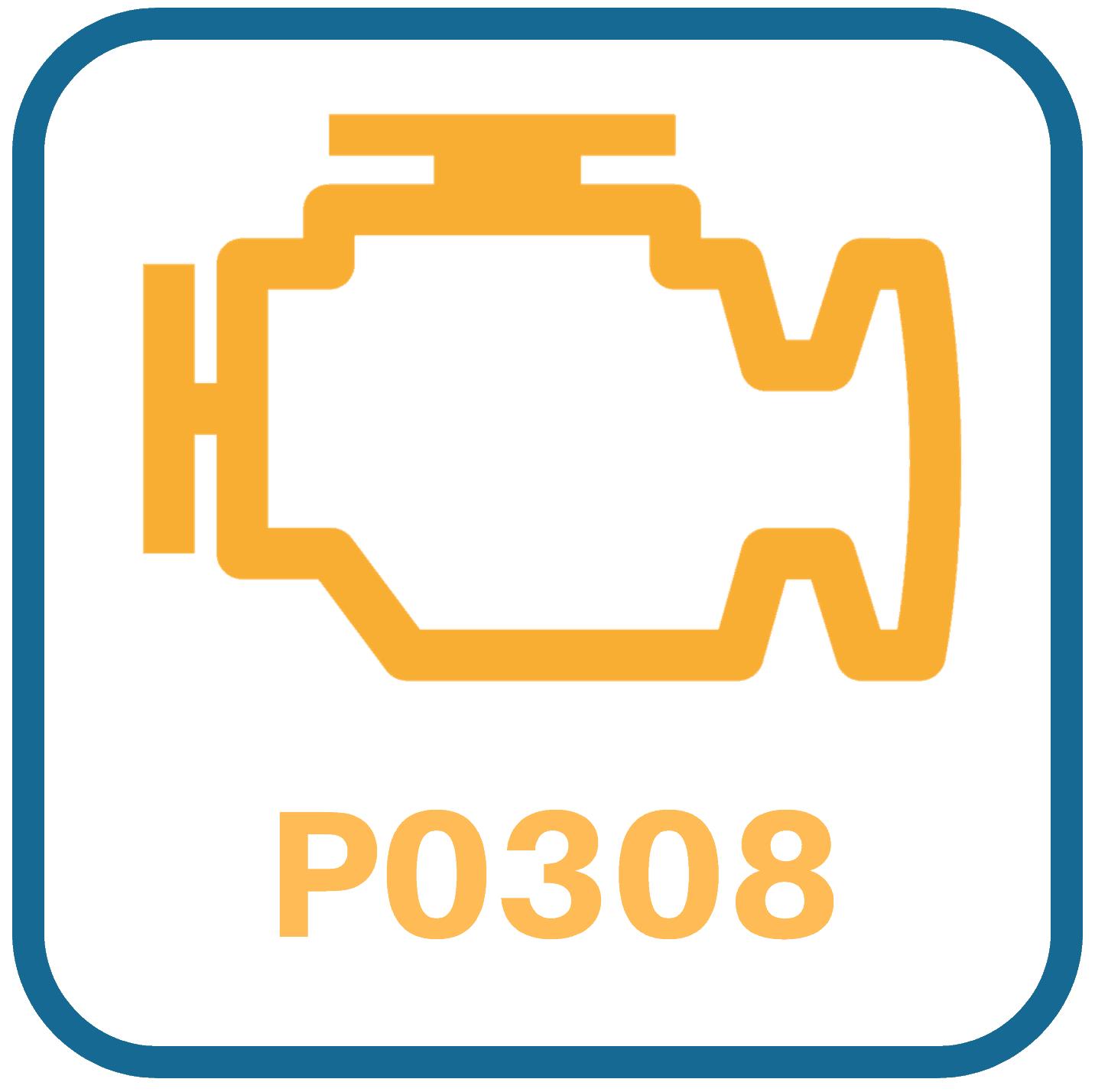 Chevy Equinox P0308 OBD2 Code