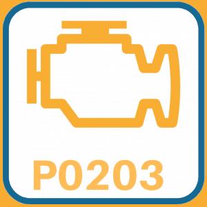 Pontiac Torrent P0203 Code Diagnosis
