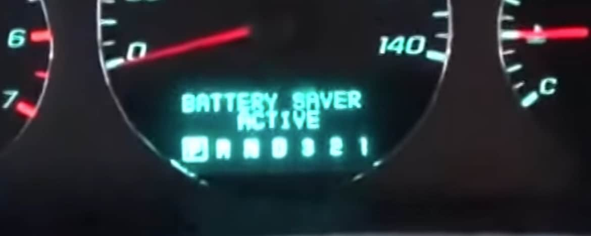 GMC Terrain Battery Saver Active Diagnosis