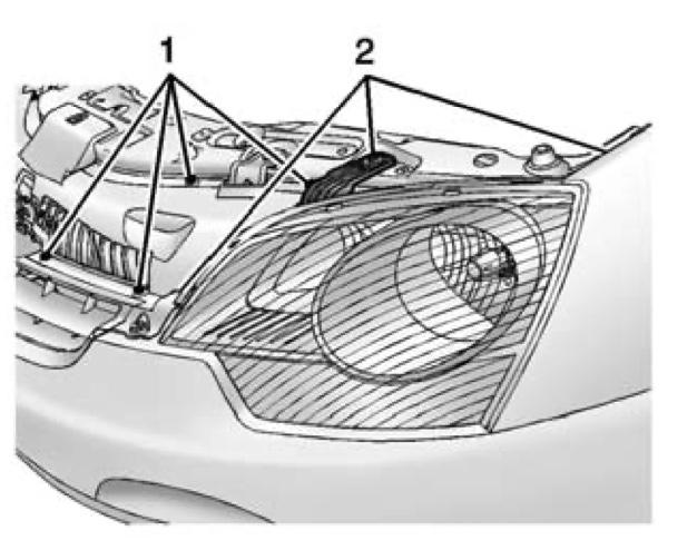 2013 Chevy Captiva Headlight Replacement Bulbs
