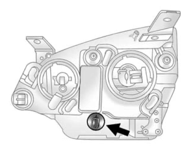 2013 Captiva Turn Signal Bulb Replacement Procedure