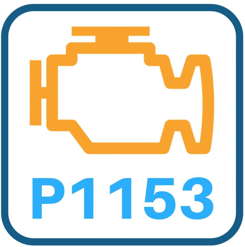 P1153 Code Definition: Buick LeSabre