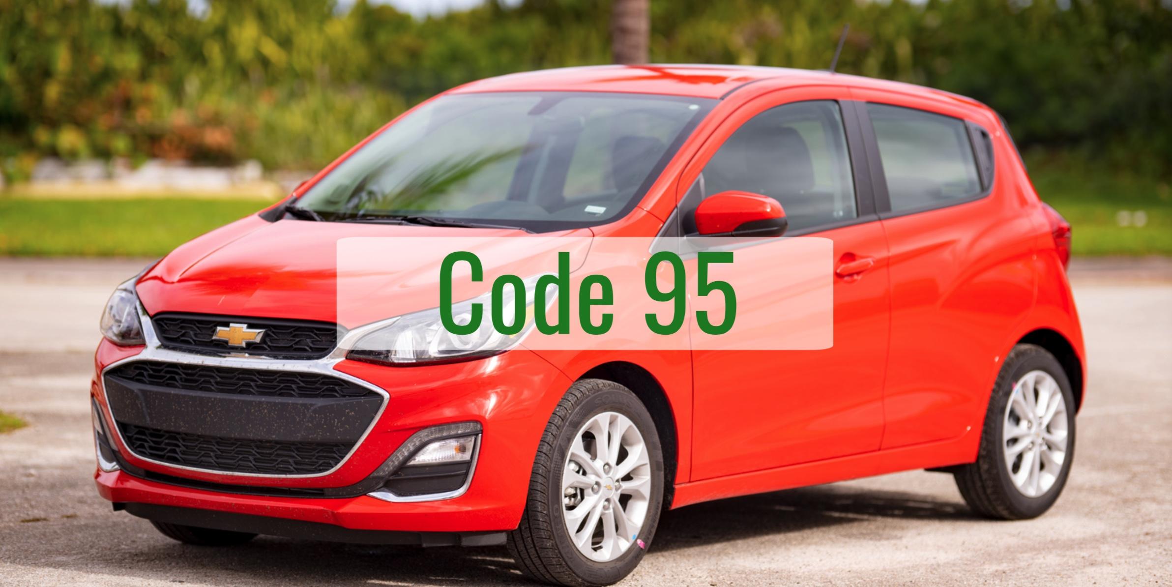 Chevrolet Spark Code 95 Diagnosis